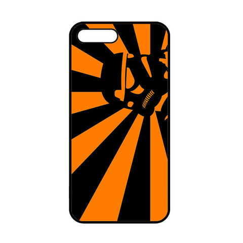Abstract Vader Star Wars Orange iPhone 7 | 7 Plus Case