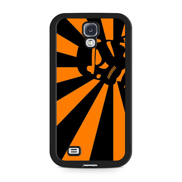 Abstract Vader Star Wars Orange Samsung Galaxy S4 | S4 Mini Case