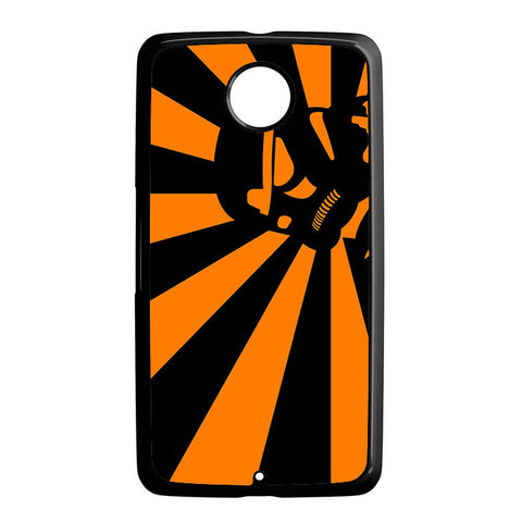 Abstract Vader Star Wars Orange Nexus 6 5 4 8 5X Case
