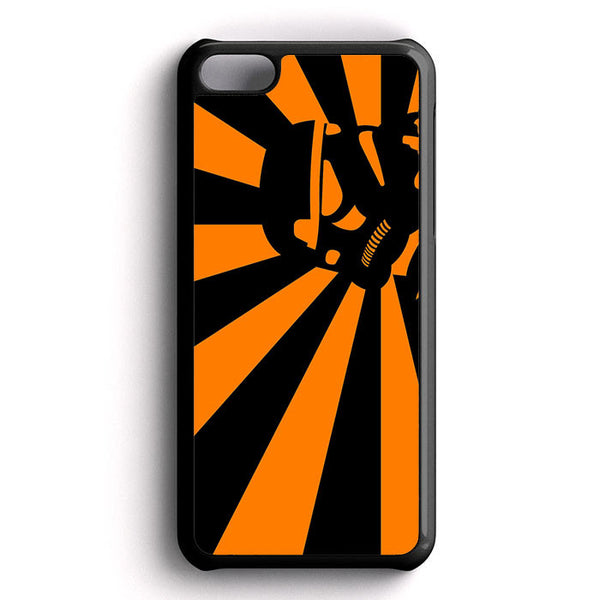 Abstract Vader Star Wars Orange iPhone 5C Case