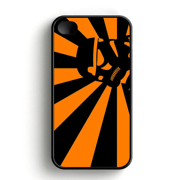 Abstract Vader Star Wars Orange iPhone 4 | 4S Case
