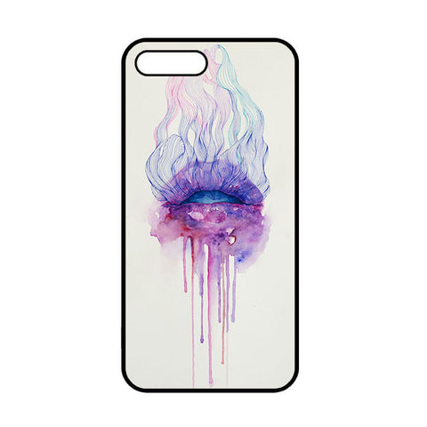 Acuarela Lips Art iPhone 7 | 7 Plus Case
