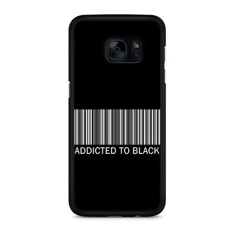 Addicted To Black Samsung Galaxy S7 | S7 Edge Case