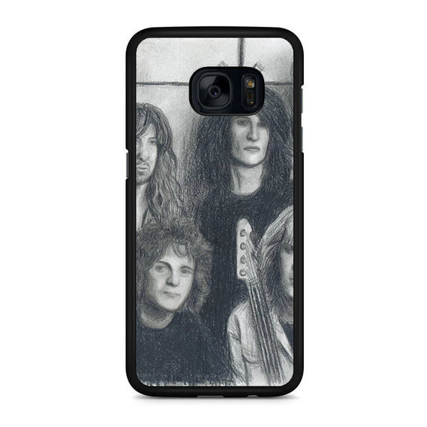 Aerosmith Black Greyscale Cover Samsung Galaxy S7 | S7 Edge Case