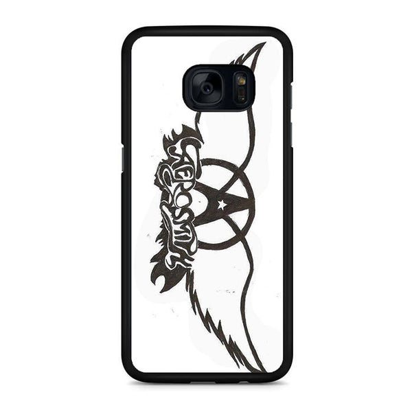 Aerosmith Black White Samsung Galaxy S7 | S7 Edge Case