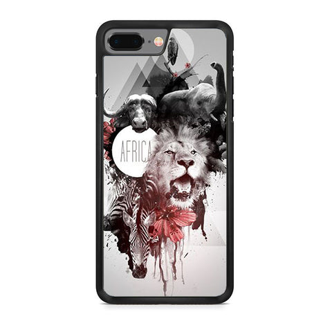 Africa Animal Art iPhone 8 Plus Case