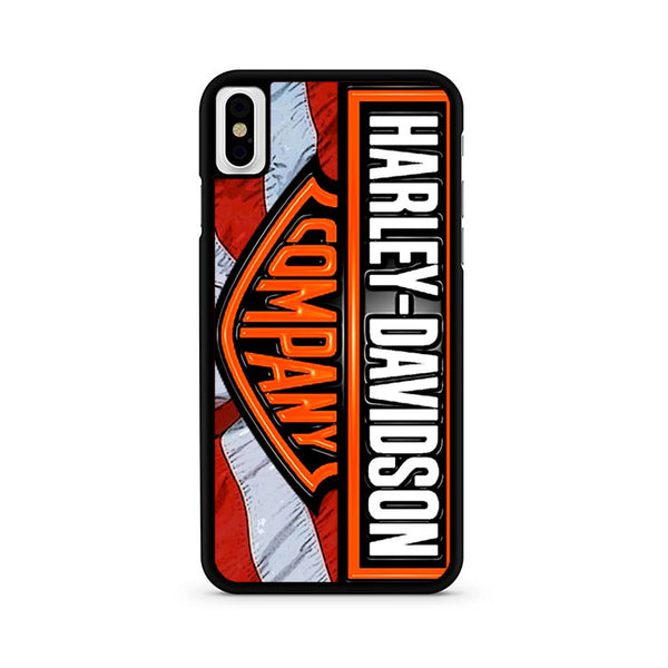 Harley Davidson Company Cycle iPhone X Case
