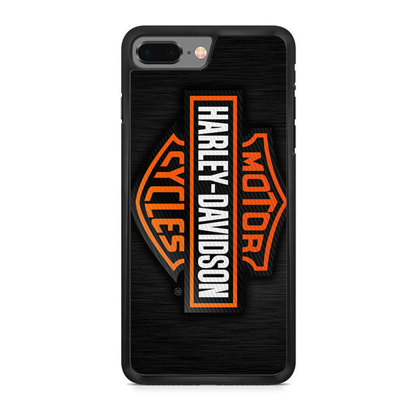 Harley Davidson Cycle Logo iPhone 8 Plus Case