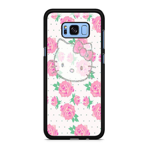 Hello Kitty Pink Rose Samsung Galaxy S8 | S8 Plus Case