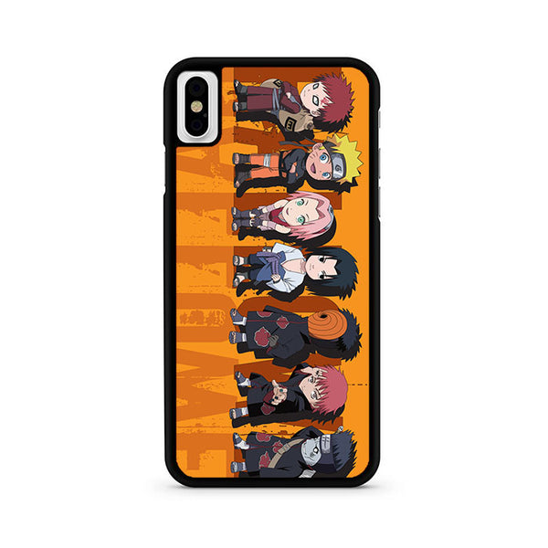 Welcome Anime Naruto iPhone X Case