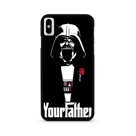Your Father Vader Style iPhone X Case