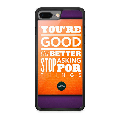 Your Good Better iPhone 8 Plus Case