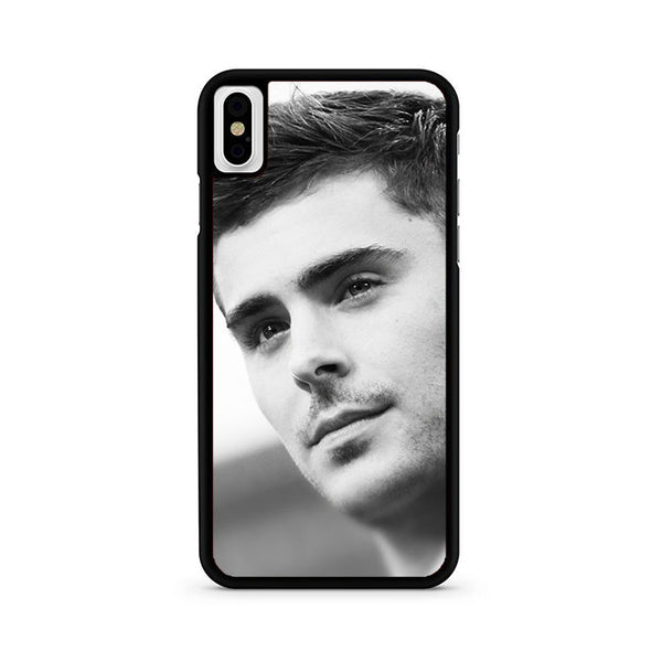 Zac Efron Face iPhone X Case