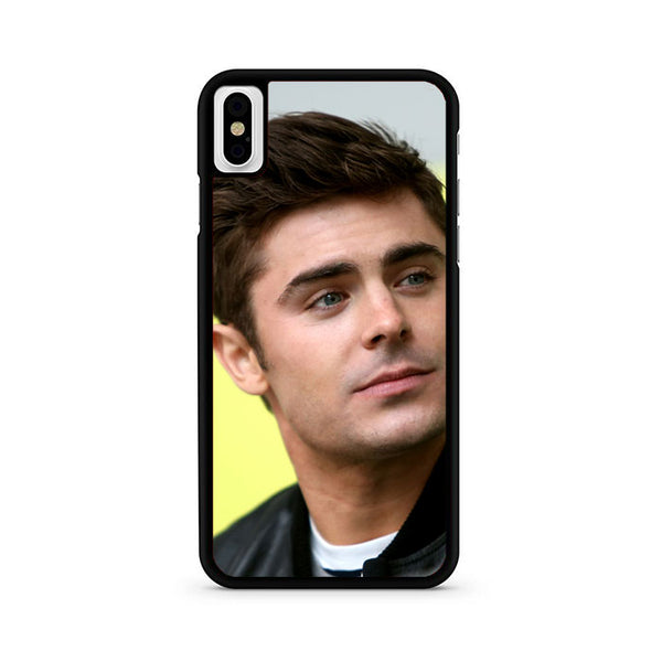 Zac Efron Hairstyle iPhone X Case