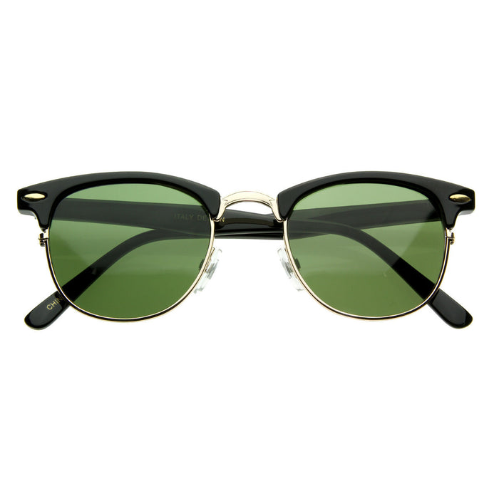 Clubmaster Classic Wayfarer Sunglasses - We Heart Sunglasses