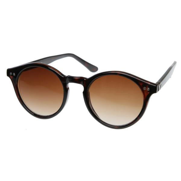 Round Wayfarer Keyhole Chic Sunglasses - We Heart Sunglasses