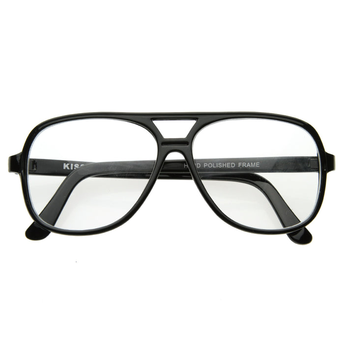 Black Round Vintage Reader Glasses