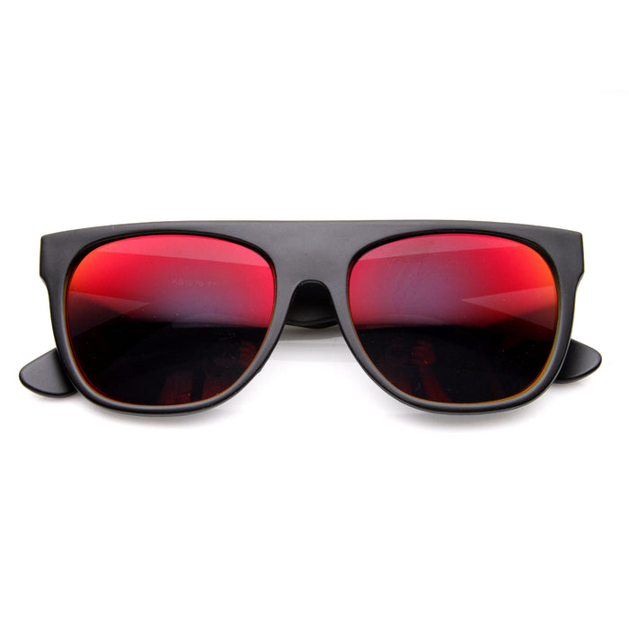 Flat Top Revo Sunglasses