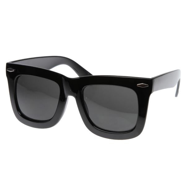 Oversized Iconic Fashion Wayfarer - We Heart Sunglasses