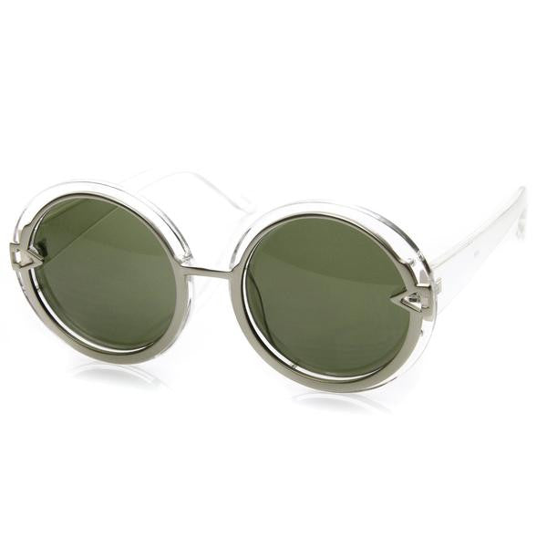 Round Arrow Vintage Sunglasses
