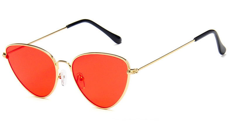 Red Cat Eye Translucent Sunglasses - We Heart Sunglasses