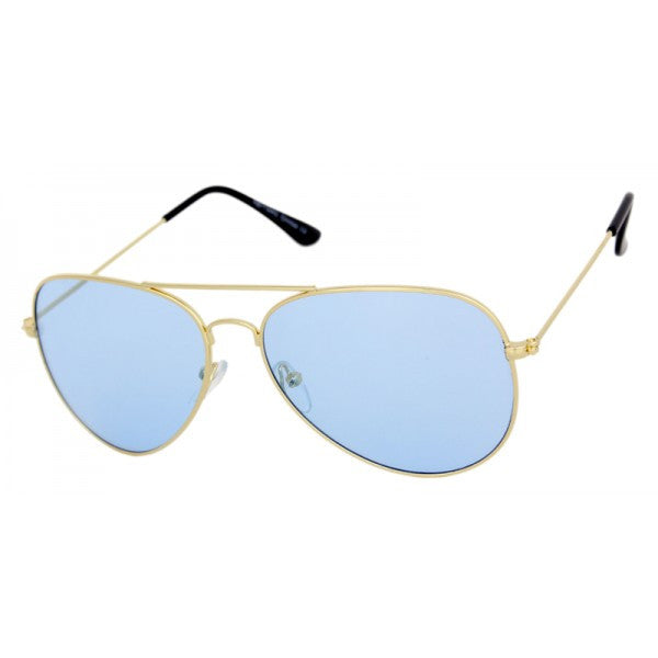 Translucent Retro Aviator Sunglasses - We Heart Sunglasses
