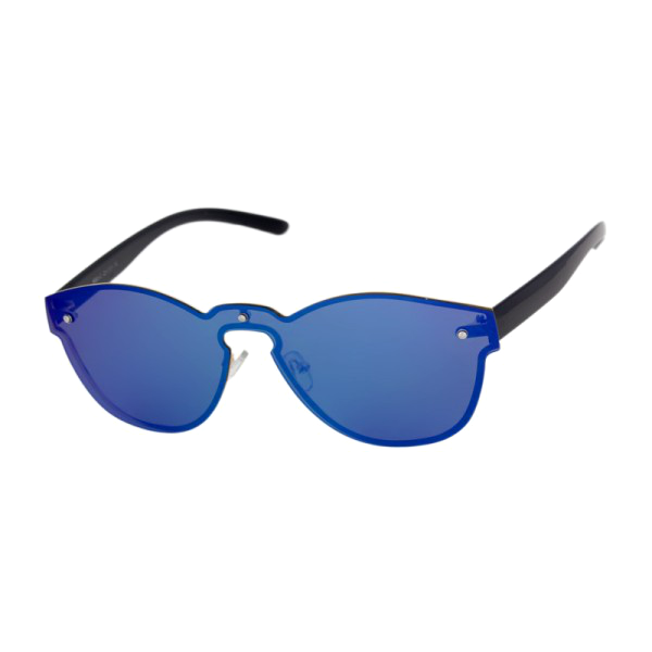Mirrored Revo Keyhole Sunglasses