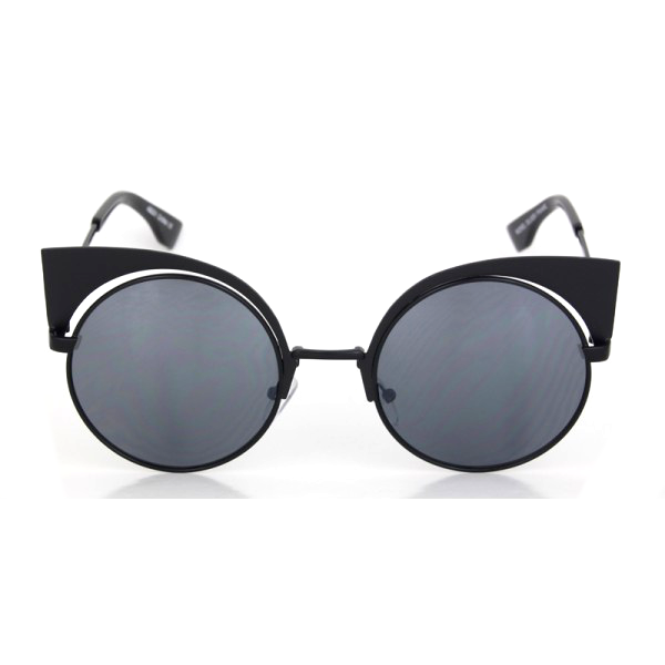 Metal Modern Cat Eye Sunglasses
