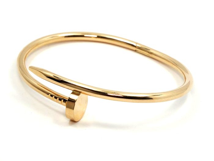 Gold Nail Cuff Bracelet - We Heart Sunglasses