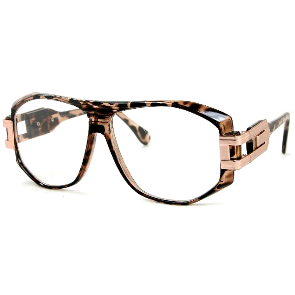 Cazal DMC Style Clear Glasses