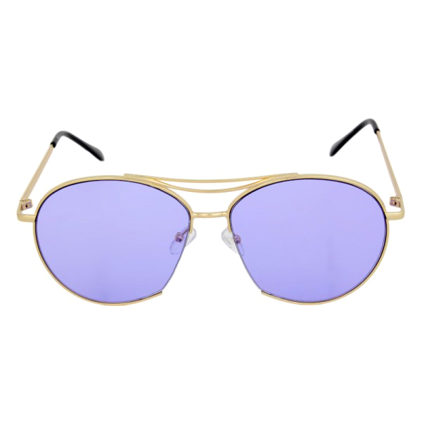 Round Aviator Style Sunglasses - We Heart Sunglasses