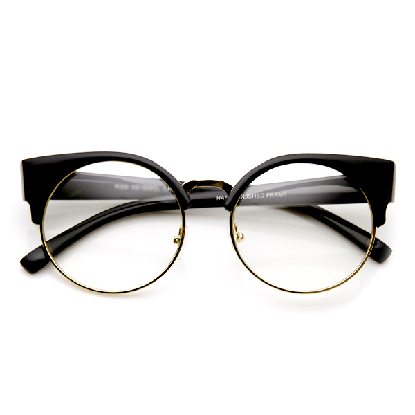 Clear Cat Eye Vintage Reader Glasses - We Heart Sunglasses