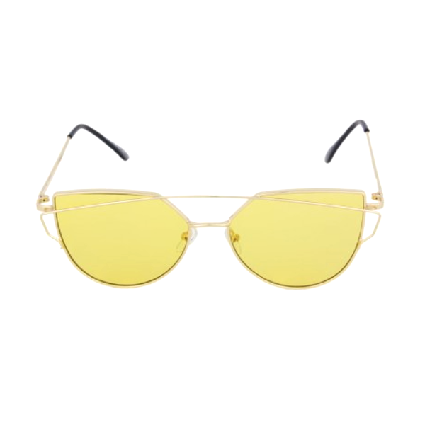 Translucent Cross Bar Cat Eye Sunglasses - We Heart Sunglasses