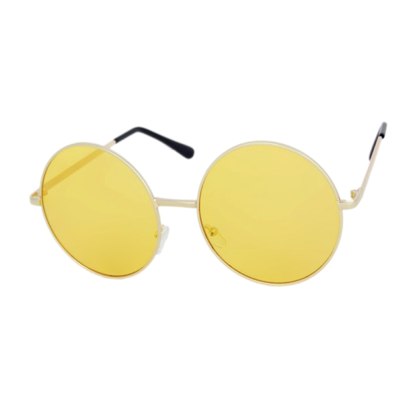 Circled Translucent Boho Sunglasses - We Heart Sunglasses
