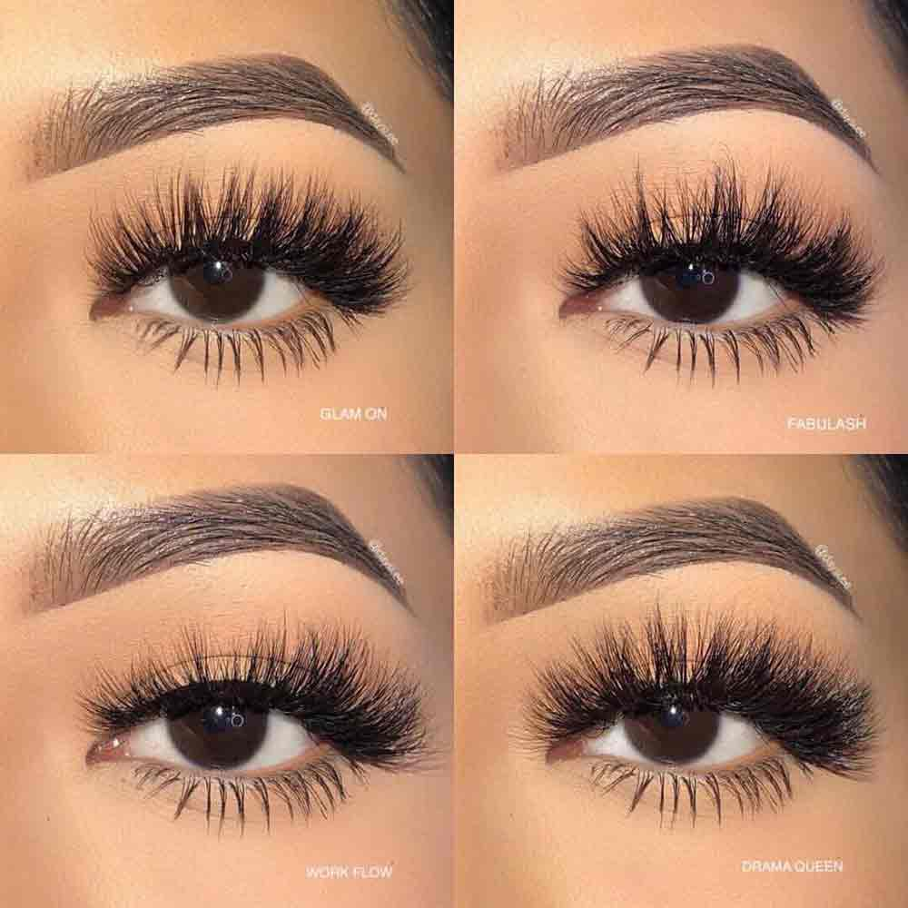 Dramatic False Eyelashes That Adds Full Length And Volume
