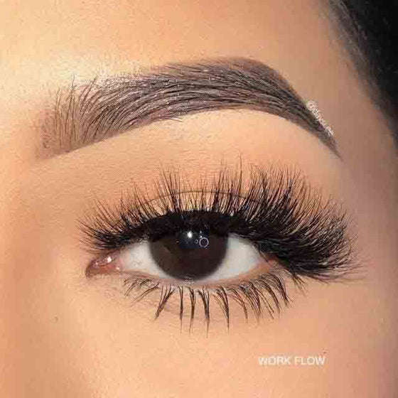 workflow premium mink lashes 17mm