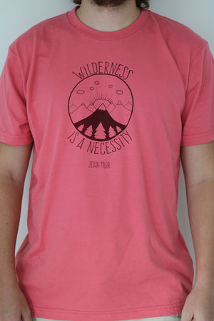Wilderness Is A Necessity T-Shirt - Rebel Pine