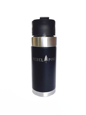 Black Travel Mug - Rebel Pine