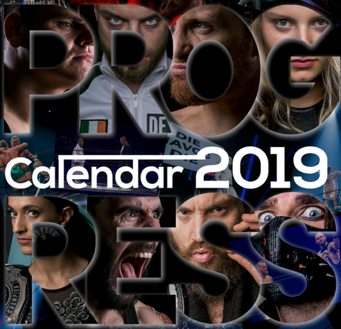 2019 PROGRESS Wall Calendar