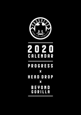 2020 PROGRESS Wall Calendar