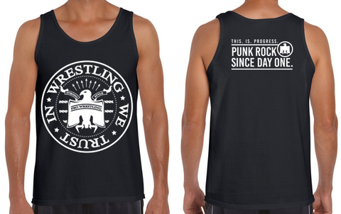 'In Wrestling We Trust' Tank Top