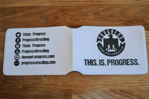PROGRESS Card Holder - White