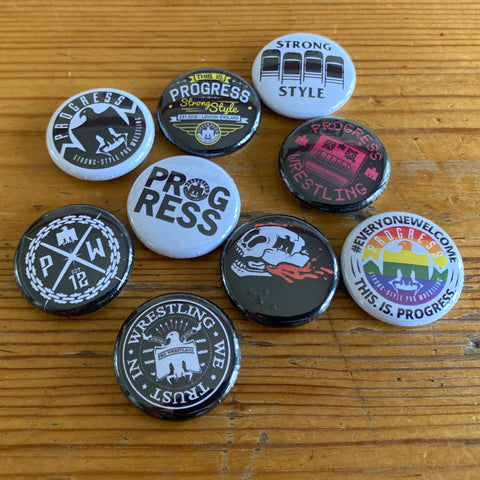 Button Badges (Set of 9)
