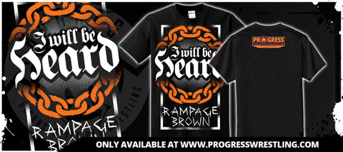 2016 Rampage Brown Collab T-Shirt