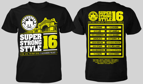 Super Strong Style 16 Event T-Shirt - S Only