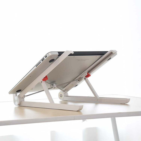 Universal, Portable, Adjustable and Foldable Premium Laptop Stand from The Happy Swiss