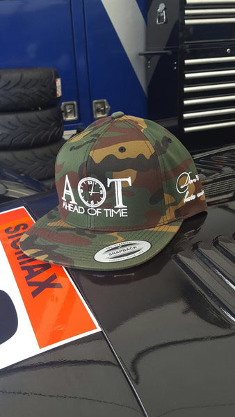 Ahead of Time Army Style Snapback