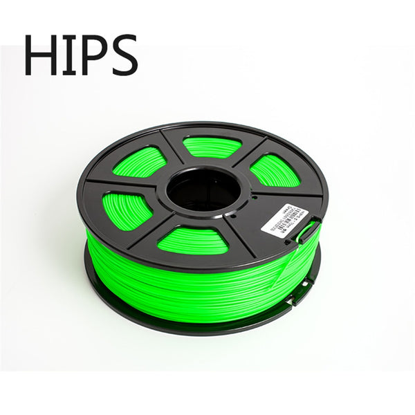 HIPS 1.75mm 1kg  3d Printer Filament High Quality Plastic  3d Printing Filament   HIPS 3d plastic filament  Support material