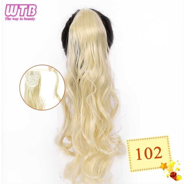 Synthetic Ponytail Hair Extension 22 Inch