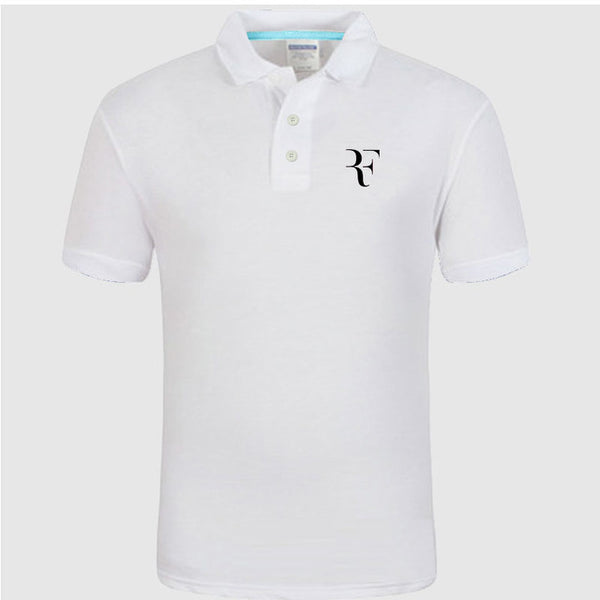 New Polo Shirt Rf Roger Federer The Happy Swiss